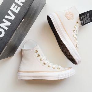 Converse CTAS Hi Vintage White/Vachetta/White-Whit